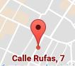 Visítanos en la calle Rufas, en Zaragoza