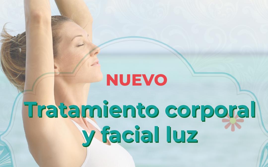 Tratamiento corporal y facial luz